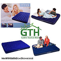 Двуспальный надувной матрас Intex 64759. Ширина 152см. Доставка, гарантия.