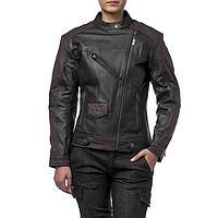Куртка женская кожаная-вокс Teacher WAX, XS