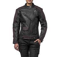 Куртка женская кожаная-вокс Teacher WAX, S