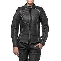 Куртка женская кожаная Mira, XXS