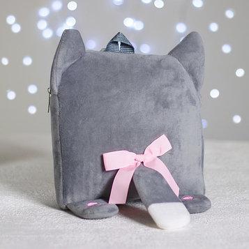 Рюкзак «Милая кошечка», плюшевый