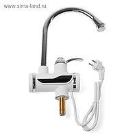 Кран-водонагреватель UNIPUMP BEF-012-02, проточный, 3 кВт, белый