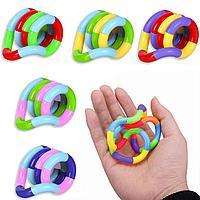 Мини игрушка антистресс Twist Tangle змейка в ассортименте