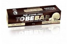 Протеиновые палочки TOBEBAR «Ванильное мороженое» в шоколаде без сахара 4 палочки, 10шт х 50г (500 г)