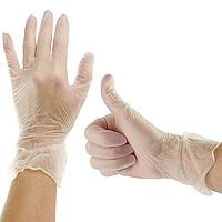 Перчатки одноразовые виниловые, 100шт (50пар)