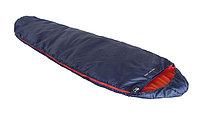 Спальный мешок HIGH PEAK Мод. LIGHT PACK 1200 (синий/оранжевый), R 89173