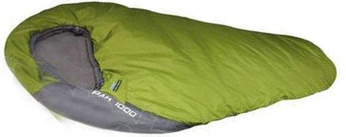 Спальный мешок HIGH PEAK Мод. PAK 1000 (темно-серый/синий), R 89115