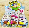 GL 610390 Пластилин Cake Clay (12*10см) 4цвета в баночке из12шт, цена за 1шт