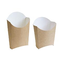 Крафт упаковка для картофеля фри