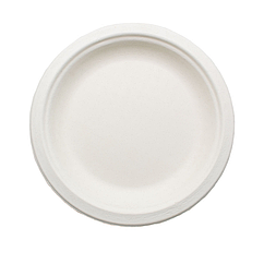 Плоская одноразовая тарелка 155 мм