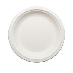 Плоская одноразовая тарелка 230 мм