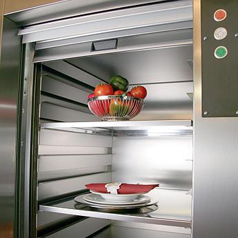 Малогрузовые ресторанные лифты