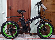 """Bafang 48v 500w (max 1000w), аккум. Li-ion 48v 13 A/H. Электровелосипед складной. Колеса 20*4""""."""