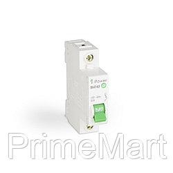 Автоматический выключатель реечный iPower ВА47-63 1Р 32А