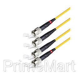 Патч Корд Оптоволоконный ST/UPC-ST/UPC SM 9/125 Duplex 2.0мм 1 м