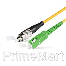 Патч Корд Оптоволоконный SC/APC-FC/UPC SM 9/125 Simplex 2.0мм 1 м