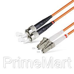 Патч Корд Оптоволоконный LC/UPC-ST/UPC MM OM1 62.5/125 Duplex 3.0мм 1 м