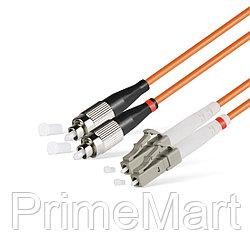 Патч Корд Оптоволоконный FC/UPC-LC/UPC MM OM2 50/125 Duplex 3.0мм 1 м