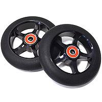 Колеса для трюкового самоката металлические диаметр 110 мм ABEC 7 черные