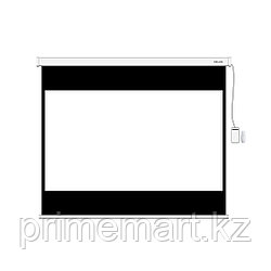 """Экран моторизированный (с пультом Д/У) Deluxe DLS-ERC274х206W (108""""х81""""), Ø - 135"""", 4:3"""