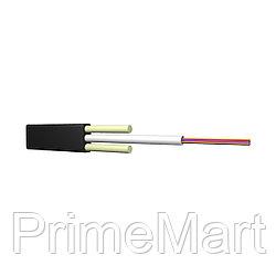 Кабель оптоволоконный ИК/Д2-Т-А4-1.1 кН (плоский)