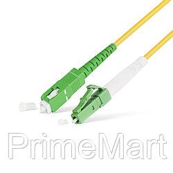 Патч Корд Оптоволоконный SC/APC-LC/APC SM 9/125 Simplex 3.0мм 1 м