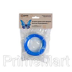 Филамент (нить) для 3D ручки Синий светящийся PLA 10м.