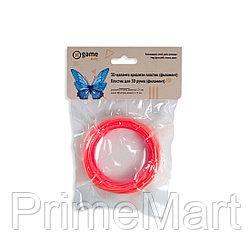 Филамент (нить) для 3D ручки Красный PLA 10м.