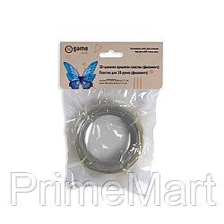 Филамент (нить) для 3D ручки Серебристый PLA 10м.