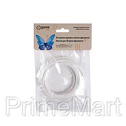 Филамент (нить) для 3D ручки Белый светящийся PLA 10м.