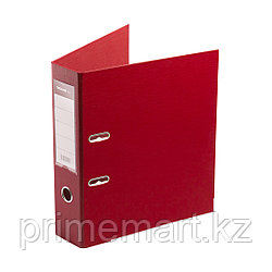 """Папка–регистратор Deluxe с арочным механизмом, Office 3-RD24 (3"""" RED), А4, 70 мм, красный"""