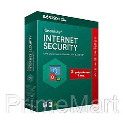 Kaspersky Internet Security 2021 Box 2 пользователя 1 год