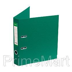 """Папка–регистратор Deluxe с арочным механизмом, Office 2-GN36 (2"""" GREEN), А4, 50 мм, зеленый"""