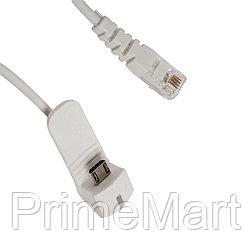 Противокражный кабель Eagle A6725B-001WRJ (Reverse Micro USB - RJ)