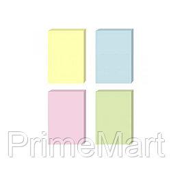 Стикеры бумажные самоклеющиеся Comix D5001, 51х76 мм., 100 л., в ассортименте