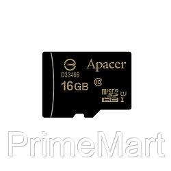 Карта памяти Apacer AP16GMCSH10U1-R 16GB + адаптер