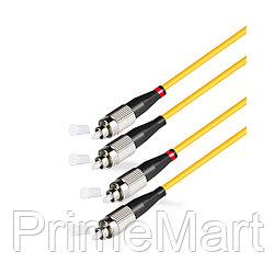 Патч Корд Оптоволоконный FC/UPC-FC/UPC SM 9/125 Duplex 3.0мм 1м