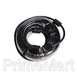 Интерфейсный кабель iPower VGA 15M/15M 20 м. 1 в.