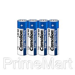 Батарейка CAMELION Super Heavy Duty R6P-SP4B 4 шт. в плёнке