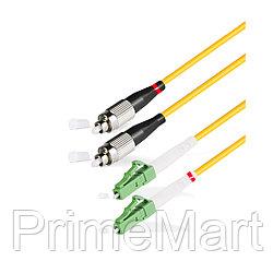 Патч Корд Оптоволоконный FС/UPC-LC/APC SM 9/125 Duplex 2.0мм 1 м