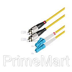 Патч Корд Оптоволоконный FС/UPC-LC/UPC SM 9/125 Duplex 2.0мм 1 м