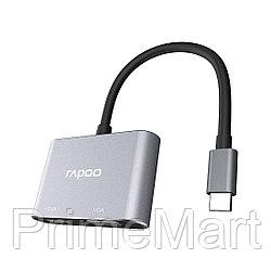 Мультифункциональный адаптер Rapoo XD10V