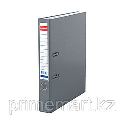Папка–регистратор с арочным механизмом ErichKrause®, Granite, А4, 50 мм, серый