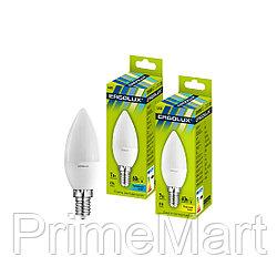 Эл. лампа светодиодная Ergolux LED-C35-7W-E14-3K, Тёплый