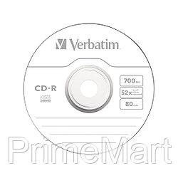 Диск CD-R Verbatim (43432) 700MB 25штук Незаписанный