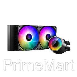 Кулер с водяным охлаждением Deepcool CASTLE 240 RGB V2