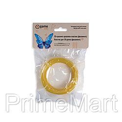 Филамент (нить) для 3D ручки Золотистый PLA 10м.