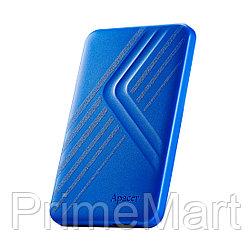 """Внешний жёсткий диск Apacer 1TB 2.5"""" AC236 Синий"""