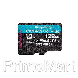 Карта памяти Kingston SDCG3/128GBSP A2 U3 V30 128GB без адаптера