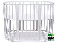 Детская кроватка Malta 8 в 1 Белая